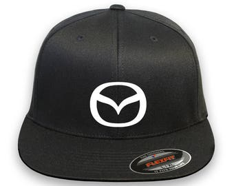 MAZDA Flex Fit Hat **CURVED Bill**  ***Free Shipping in BOX***
