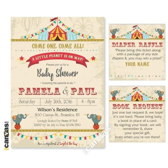 circus baby shower invitation etsy baby shower invite circus