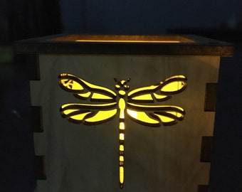 Dragonfly - Tea Light Holder