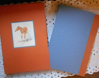 The Red Pony Hardcover and Slipcover 1989 John Steinbeck illustrated by  Wesley Dennis