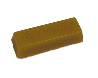 All Natural Beeswax - 1 Oz Bar - WAX-120.00