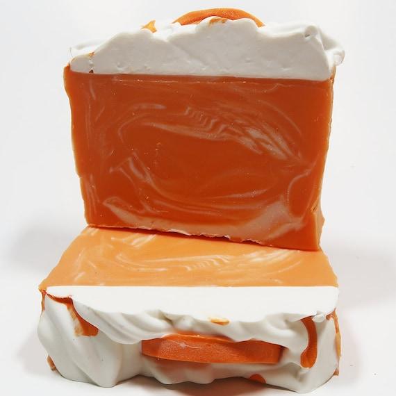 Orange Soda Cold Process Soap
