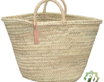 Straw baskets Backpack : French Basket Moroccan Basket straw
