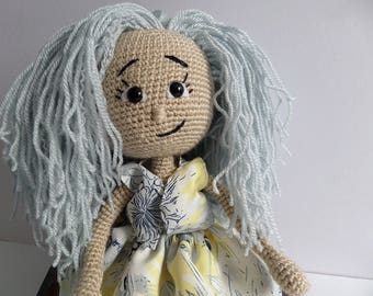 Amigurumi doll,handmade,gift idea,crocheted doll,
