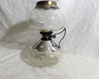 Silex Vacuum Coffee Maker, 1940's Coffee Maker, Glass Coffee Maker