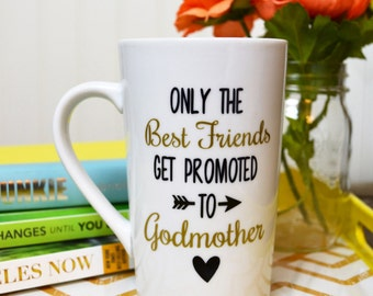 Godmother Coffee Mug // Gift for Godmother // Godmother Gift // Godmother Mug // Godmother Cup  //  Godmother gift under 20