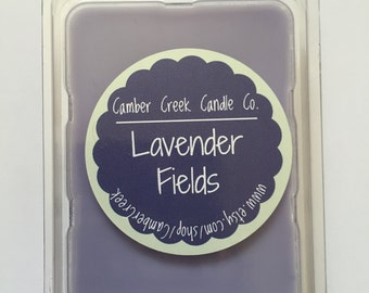 LAVENDER FIELDS // Hand Poured Soy Melts // Soy Wax Melts, Soy Tarts, Soy Melts, Wax Tarts, Hand Poured Candle Melts