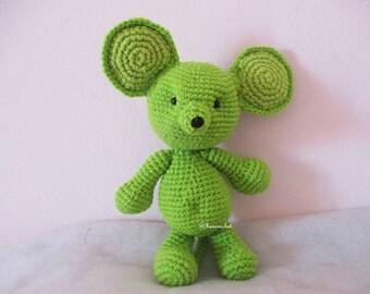 Rat amigurumi crochet:doll,rat,crochet,amigurumi, rat doll,toy,rat crochet,animals, animals toy,animals crochet,handmade,diy,Thailand,craft