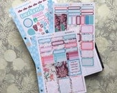 New Beginnings Kit! 3 Page Punched Kit, for your Erin Condren Life Planner, Plum Planner,  Filoflax, calendar