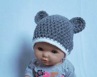 Baby/Children's hat with ears