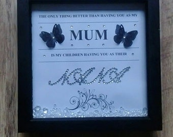 Personalised Mum/Nana/Grandma Frame *Mothers Day*