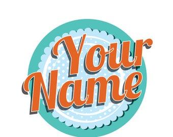 Homebaker Stationery, Retro, Logo, Letterhead, Business Card, Comp Slip