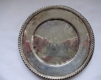Sterling Silver Plate made by Fina