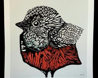 BIRD GICLÉE