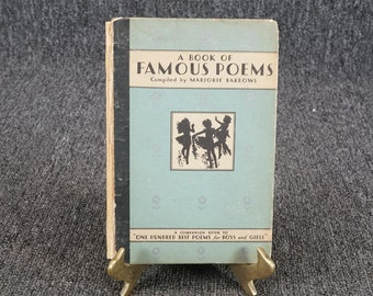 A Book Of Famous Poems For Older Boys And Girls C. 1931