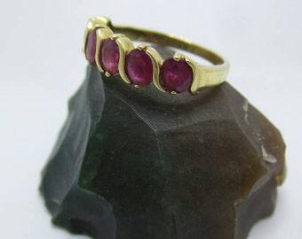 10K Gold Ruby ring. Size 5.