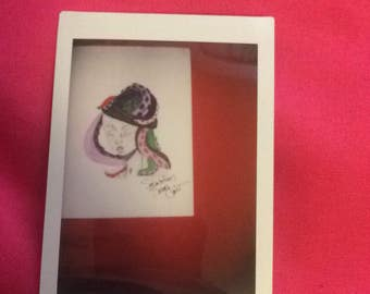 Octopus Girl Instax