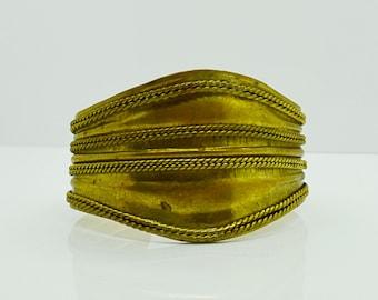 Vintage Bracelet Brass Cuff Bracelet Fashion Jewelry