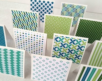 Mini note cards / mini cards / mini notecards / blank cards set of 12