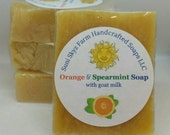 Orange Spearmint Soap - O...