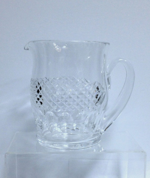 waterford crystal pitcher waterford vase by heyjudecollection