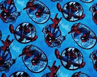 "Spiderman, 100% cotton, 1 m / 100cm / 39 """