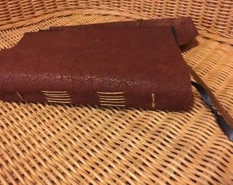 Bison Leather Journal sketchbook