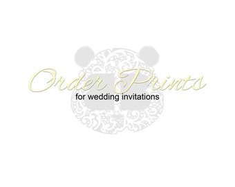 BBAnnabelle Printing for All Wedding Invitation Suites In Shop