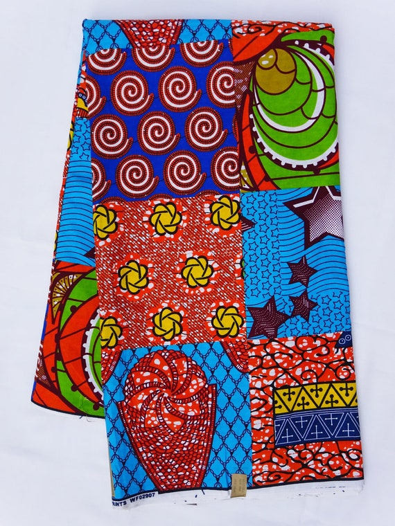 African Fabric Ankara Fabric By The Yard African Print By The