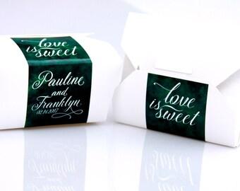 Cake Favor Box, Donut Favor, To Go Box, Wedding Cake, Cake Box, Favor Box, Doughnut Box, Cookie Box, Candy Box, Dessert Box