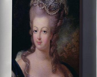 Canvas 24x36; Marie Antoinette, 1775 - Musée Antoine Lécuyer