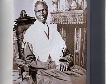 Canvas 24x36; Sojourner Truth