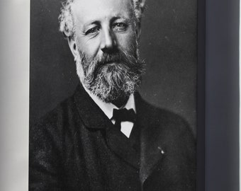 Canvas 16x24; Jules Verne