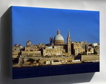 Canvas 16x24; Malta Mediterranean Sea Country