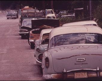 16x24 Poster; Abandoned Automobiles Nara 546177
