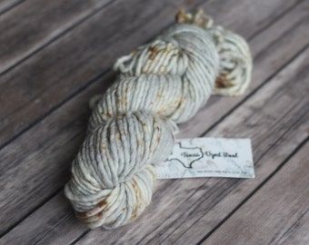 Hand Dyed Yarn, Super Bulky, Single Ply, Superwash - Thoughtful