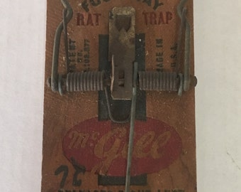 Old Time Rat Trap (4-way) McGill can't miss brand