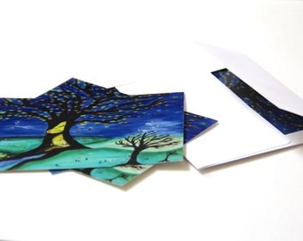 Fall Postcards with envelope