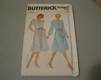 Vintage Butterick Pattern #4267 - Size 12-14-16 -- Uncut Misses Dress and Belt
