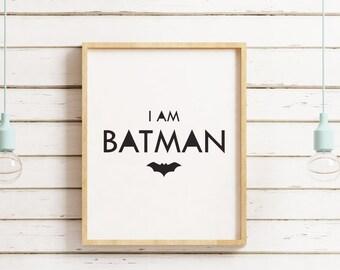 superhero poster, superhero print, superhero, batman print, spiderman print, superman print, superhero art, hero poster, nursey art, scandi