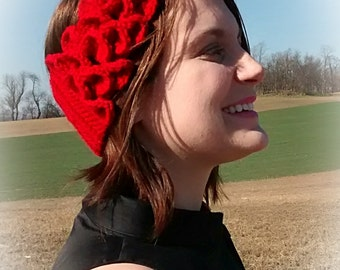 Whimsical Wrap Headwarmer Earwarmer Headband