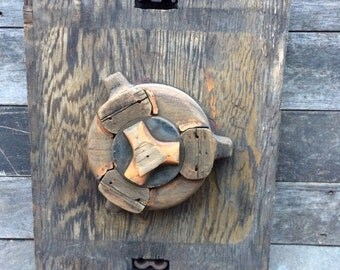 Vintage Two-Sided Industrial Mold