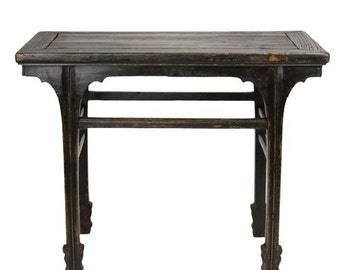 30% Off   18th Century Qing Style Altar Table, Asian Alter Console, Vintage