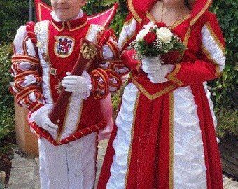 Children Prince and Princess Wuppertal