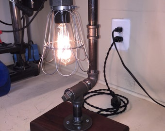 C Shaped Edison Bulb Lamp