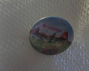 Vintage Phoenix Arizona Tombstone buttons or pins