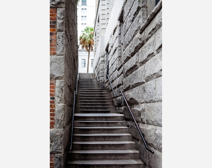 SAVANNAH STAIRS | modern fine art photography blank note cards custom books interior wall decor affordable pictures –Rick Graves