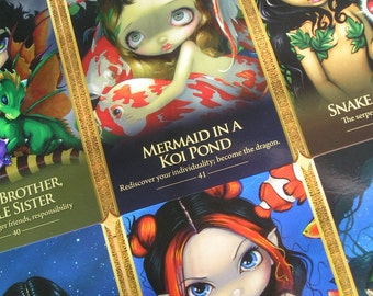 Oracle of the Shapeshifters Deck Lucy Cavendish Jasmine Becket-Griffith