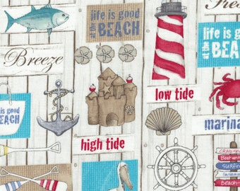 Surf's Up by Northcott Fabric - 100% Cotton