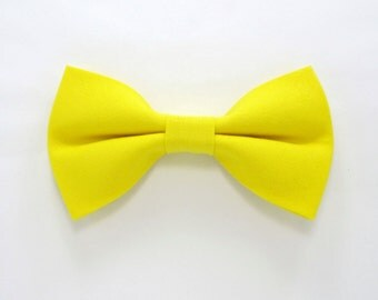 Yellow bow tie,Easter bow tie,Wedding bow tie for Men,Toddlers ,Boys,baby